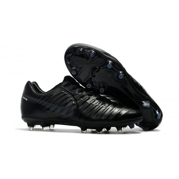 football boots nike tiempo legend 7 fg all black. Black Bedroom Furniture Sets. Home Design Ideas