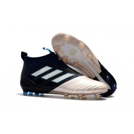 info for ca74c c4c88 Adidas ACE 17+ Purecontrol FG Kith Soccer Shoes for Men Gold Black White