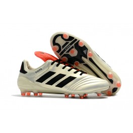 Men's Football Cleats - Adidas Copa 17.1 FG - White Black