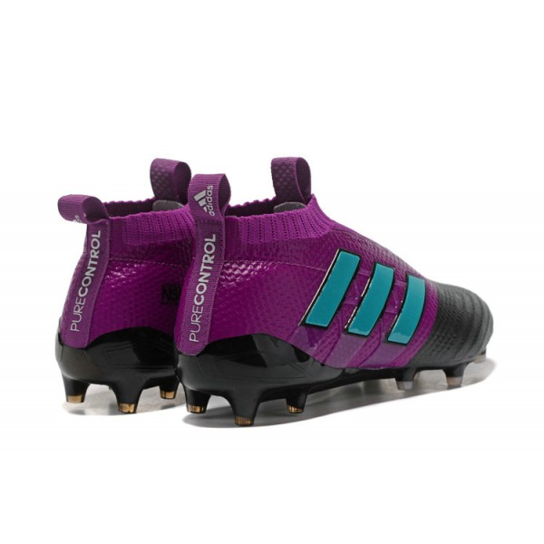 premium selection 6762f ffaa7 New Adidas ACE 17+ Purecontrol FG Football Boots Violet Blue Black