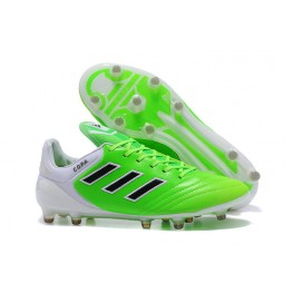 Men's Football Cleats - Adidas Copa 17.1 FG - Green Black White