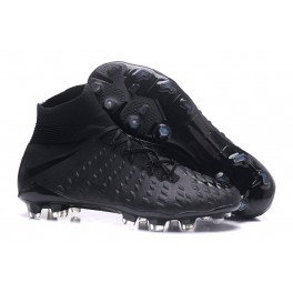 New Nike Hypervenom Phantom III DF FG For Sale All Black