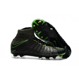 New Nike Hypervenom Phantom III DF FG For Sale Black Volt
