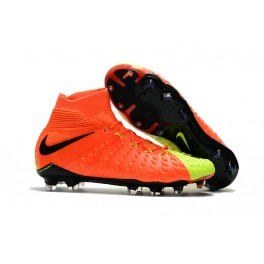 New Nike Hypervenom Phantom III DF FG For Sale Orange Volt Black