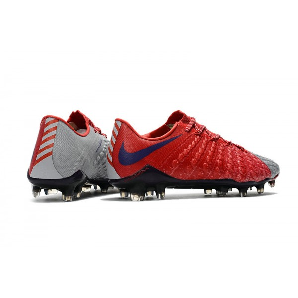 new nike hypervenom phantom 3 fg soccer cleats for men red