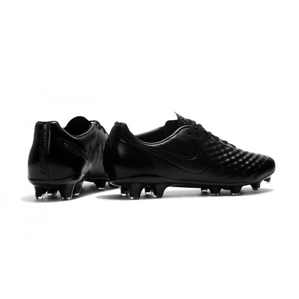 Nike Magista Opus II FG Firm Ground Soccer Shoes All Black
