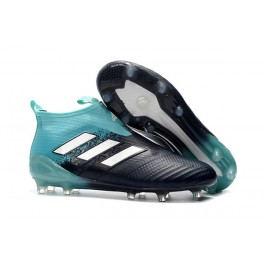 New Adidas ACE 17+ Purecontrol FG Football Boots Blue Black White