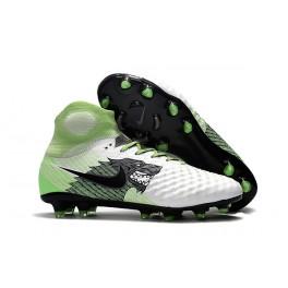 Nike Magista Obra II FG 2017 Soccer Cleats White Green Black