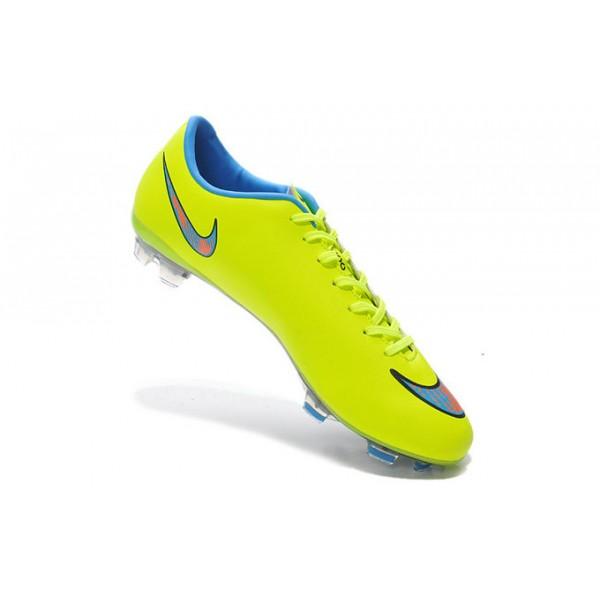 4541e414bad ... czech new nike mercurial vapor x fg soccer shoes green blue 3b842 d101f