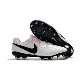 Football Boots Nike Tiempo Legend 7 FG - White Black