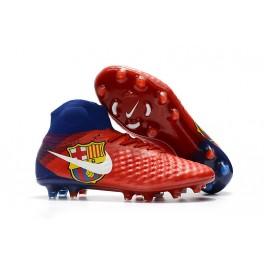 New Shoes For Men - Nike Magista Obra II FG Soccer Cleats Barcelona Red Blue