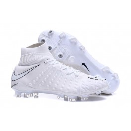 New Nike Hypervenom Phantom III DF FG For Sale All White