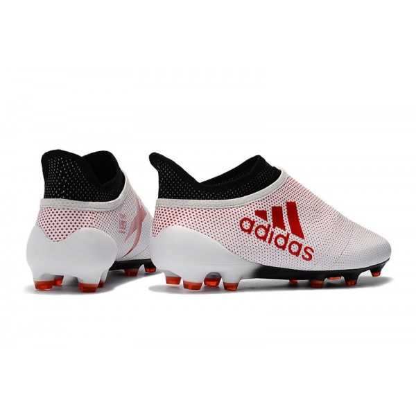 sports shoes 0f970 74ffd New Adidas X 17+ Purespeed FG - Soccer Shoes White Red Black