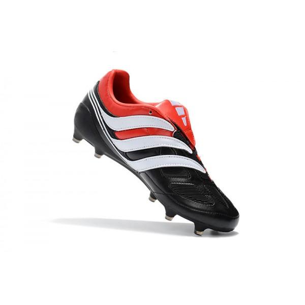 eb71f0bad25 Adidas Soccer Shoes - Adidas Predator Precision FG - Black White Red