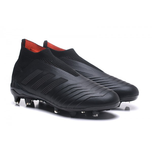 All Black Nike Soccer Shoes