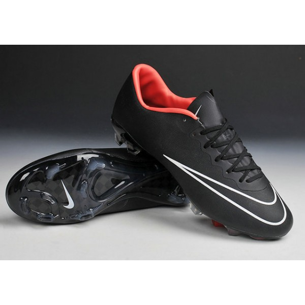 nike 10 mercurial vapor 10 fg footabll cleats black white