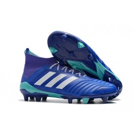 a91e945dd311 Adidas Predator 18.1 FG Soccer Cleats For Men Blue White