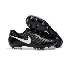 Football Boots Nike Tiempo Legend 7 FG - Black White
