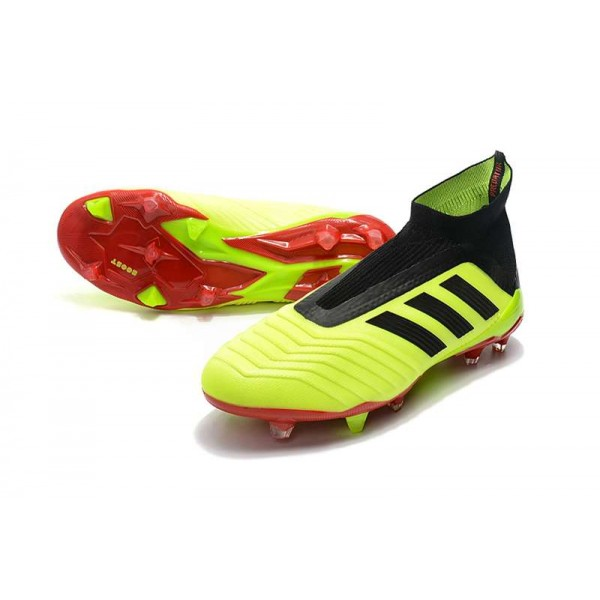 1a6884c97 ... yellow black red kp15647 germany new soccer shoes for men adidas  predator 18 fg volt black red dfbb7 e339d ...