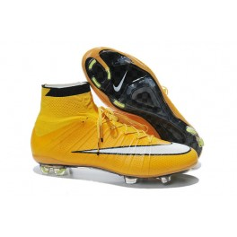 Nike Mercurial Superfly FG Soccer Cleats Cheap Shoes Laser Orange White Black