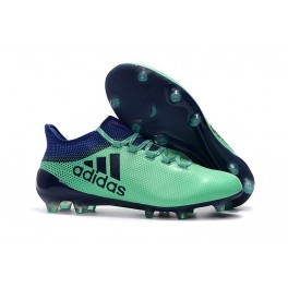 New Arrival - Adidas X 17.1 FG Football Cleats Aero Green Unity Ink Hi-Res Green
