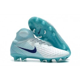 New Shoes For Men - Nike Magista Obra II FG Soccer Cleats White Blue