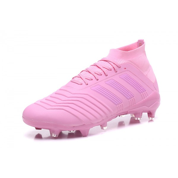 Adidas Predator 18.1 FG Soccer Cleats For Men Pink 3b9b35562eea4