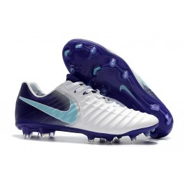 Football Boots Nike Tiempo Legend 7 FG - White Purple