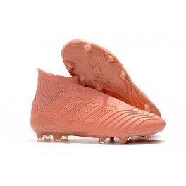 New Soccer Shoes For Men - Adidas PP Predator 18+ FG Pink