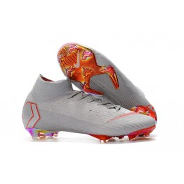 dc7adb59150b New - Nike Mercurial Superfly 6 Elite FG Soccer Cleats Gray Red