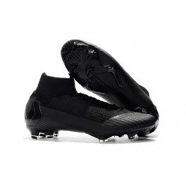 d228c1875 Soccer Shoes For Men - Nike Mercurial Superfly 6 Elite FG All Black World  Cup