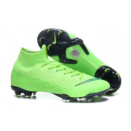New - Nike Mercurial Superfly 6 Elite FG Soccer Cleats Green Black