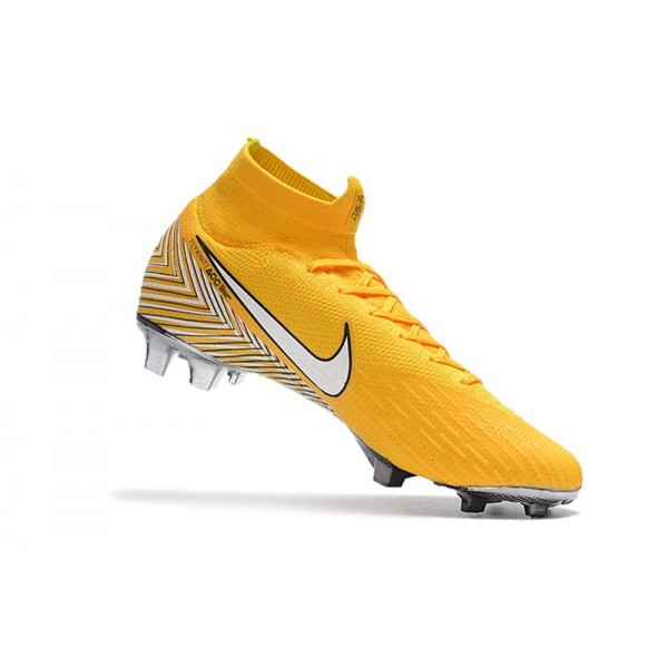 sports shoes 708b9 20d52 New - Nike Mercurial Superfly 6 Elite FG Soccer Cleats Amarillo White Black
