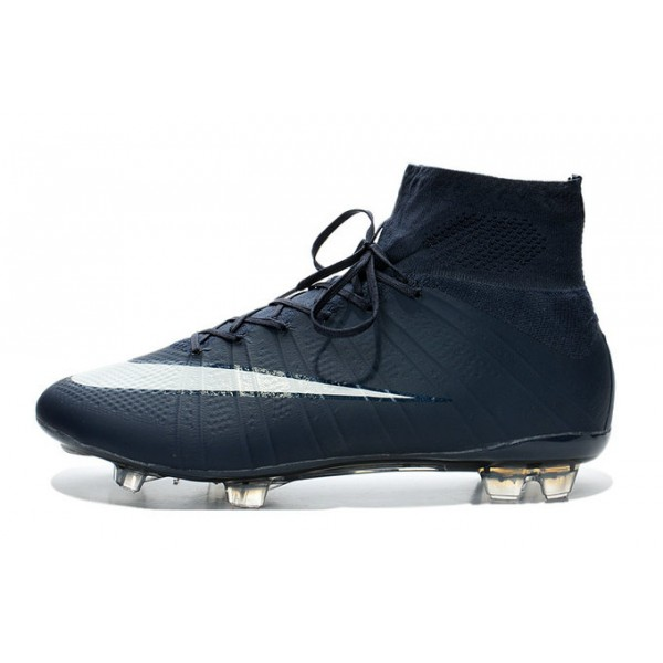 nike new mercurial superfly fg men s firm ground soccer boots cyan white