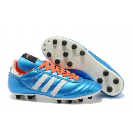 2015 Adidas Copa Mundial FG Soccer Cleats Blue Orange White