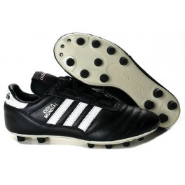 Adidas Mens Copa Mundial Firm Ground Football Boots Black White