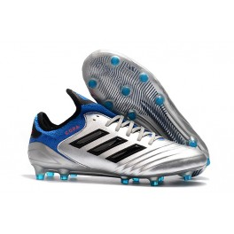 big sale 651d6 fbe62 ... Metallic Silver Core Black Football Blue. 2018 Adidas Copa 18.1 FG  Soccer Cleats for Men