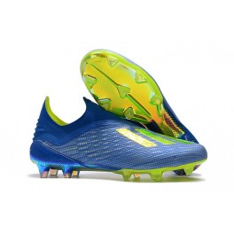 8b20789ab2d ... Blue Solar Yellow Core Black. adidas X 18+ FG Football Shoes For Men -